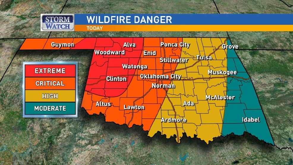 Extreme fire danger returns to Oklahoma | KOKH