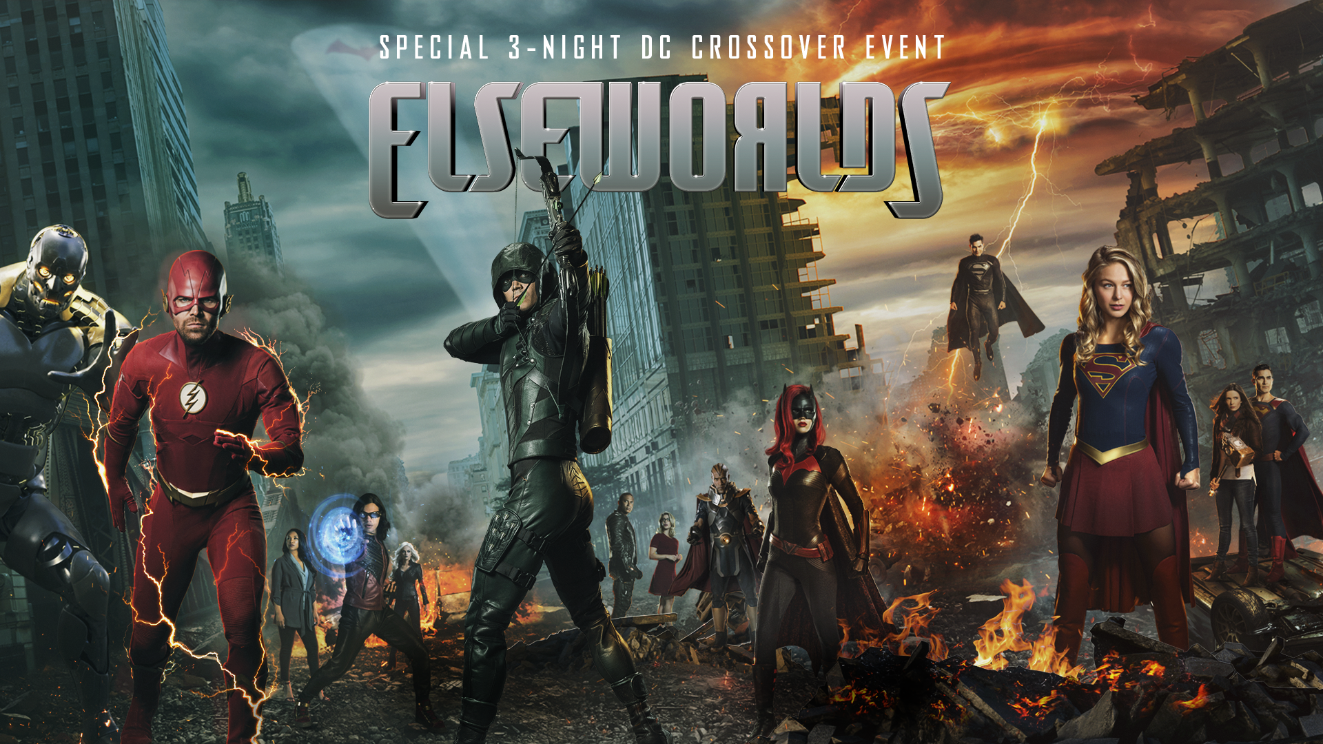 Destiny will be Rewritten in 3-Night ELSEWORLDS DC Crossover Event December 9-11th at 7pm on CW18!