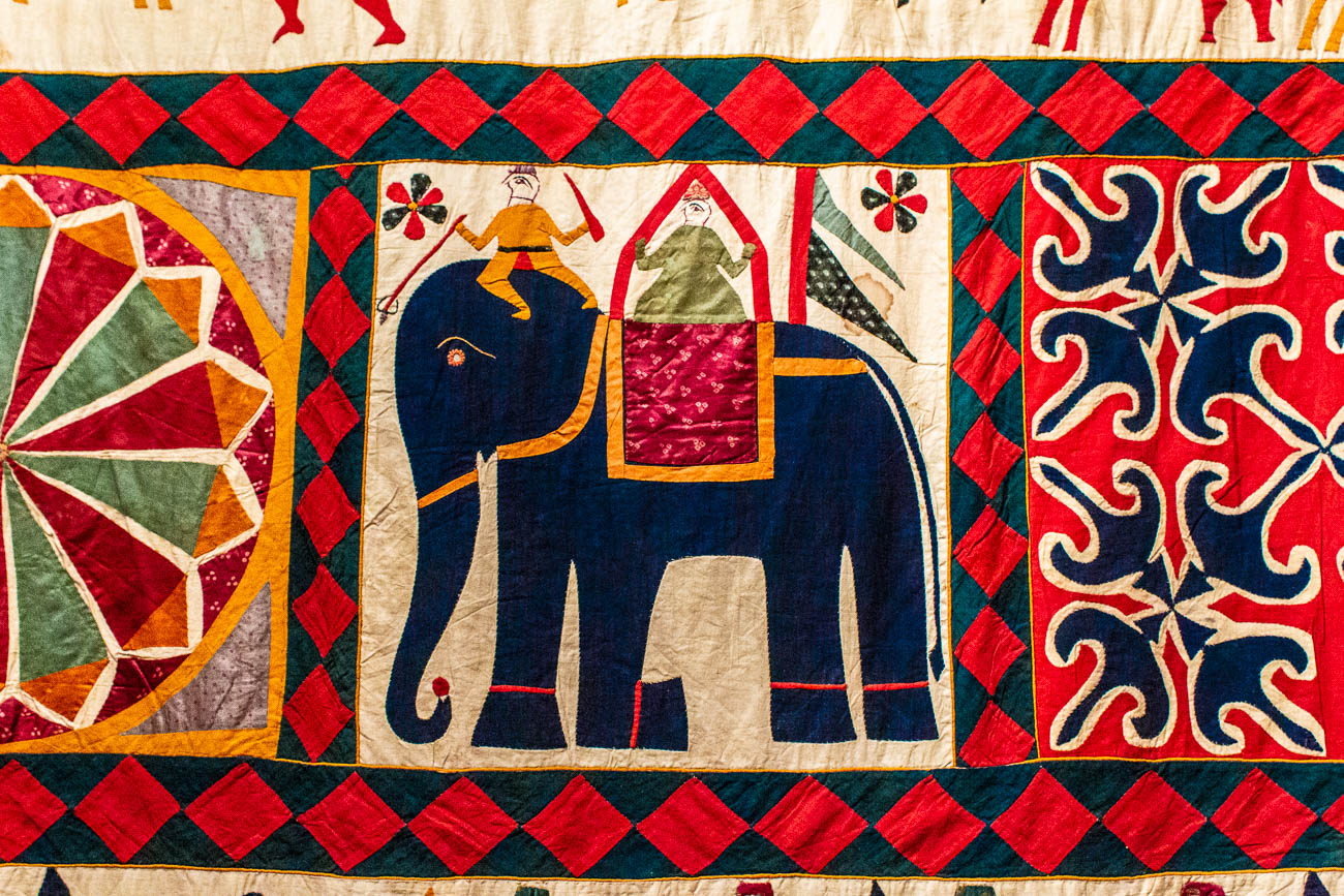 No other exhibition has covered the history and intricate techniques it takes to create such beautiful and colorful textiles from India. It examines everything from the different kinds of fabrics to the political influences of the clothing. The exhibit makes its US debut in Cincinnati. / Image: Katie Robinson, Cincinnati Refined // Published: 10.22.18