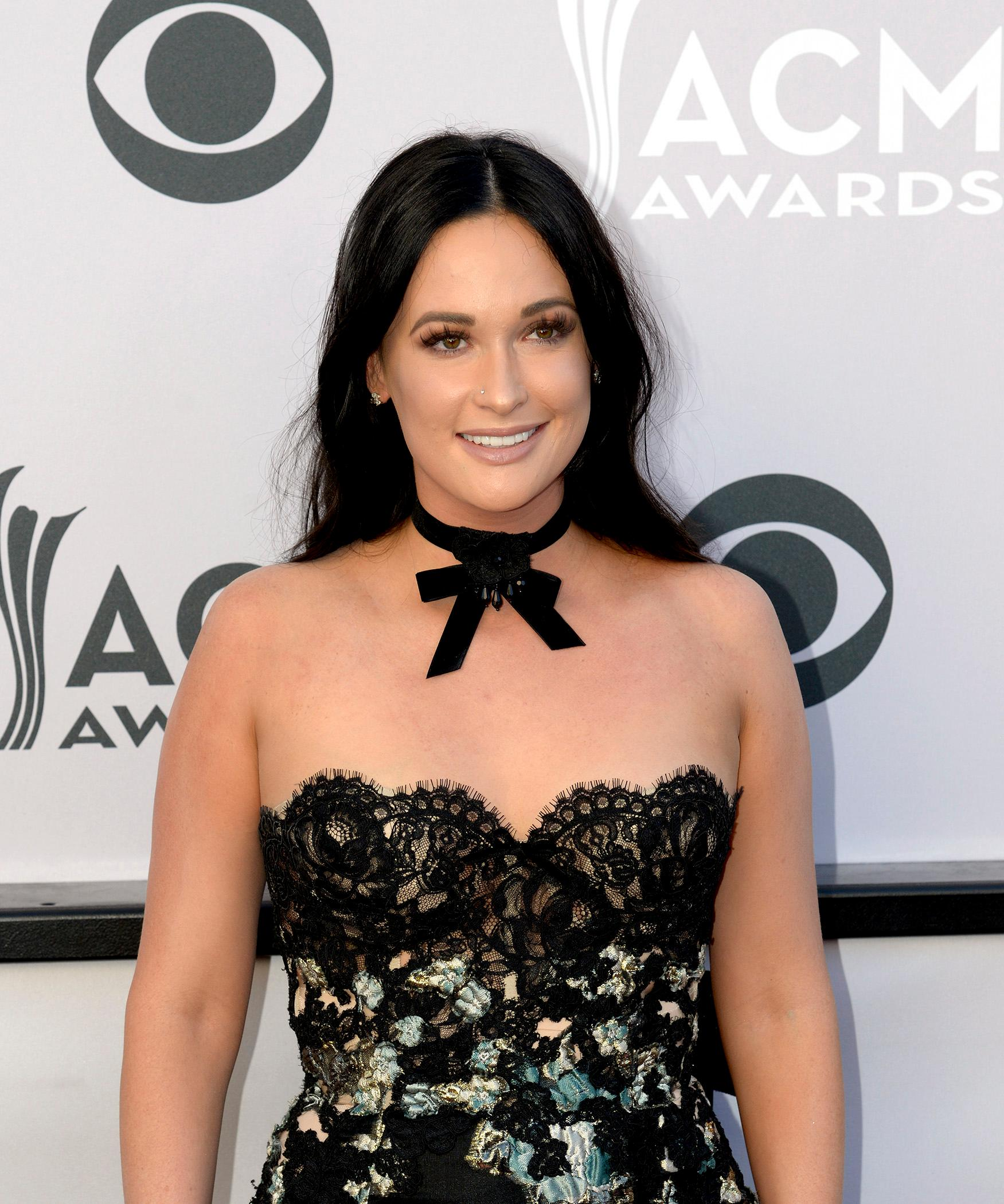 Kacey Musgraves, nominee for Female Vocalist of the Year walks the Academy of Country Music Awards red carpet at T-Mobile Arena. Sunday, April 2, 2017. (Glenn Pinkerton/ Las Vegas News Bureau)