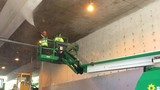 Crews scrub 48 years worth of filth from downtown Eugene parking garage