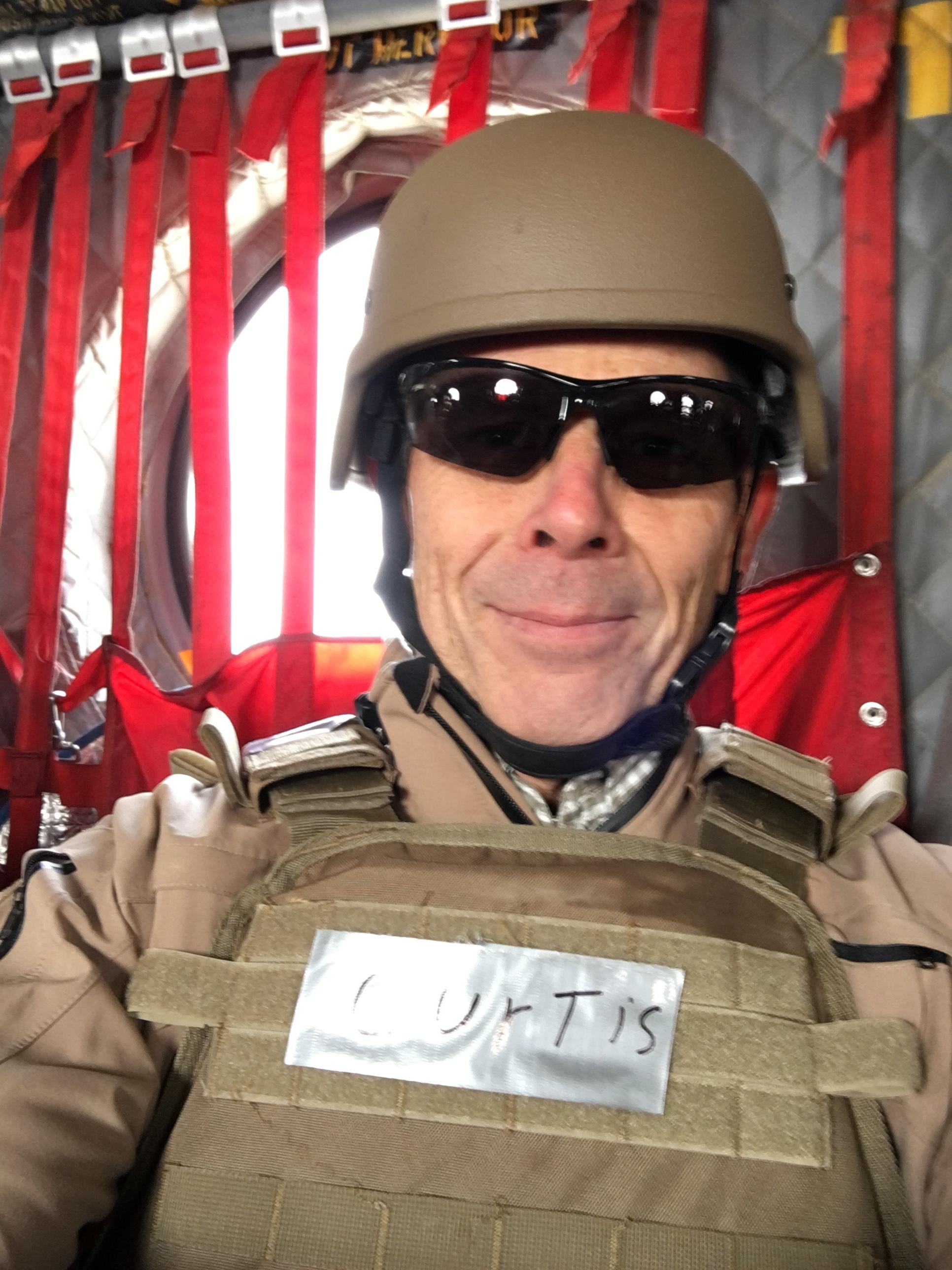 Rep. John Curtis is back in Utah after a visit to the Middle East where he thanked the troops and learned more about the difficulties they're facing in the region. (Photo courtesy of Rep. John Curtis)