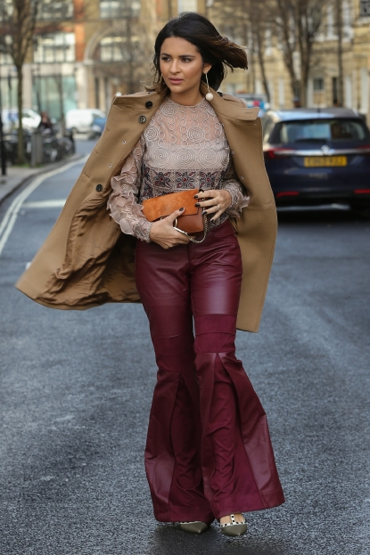 33915c2b316 Street style on day 4 of the Autumn Winter 2017 shows at 180 The Strand