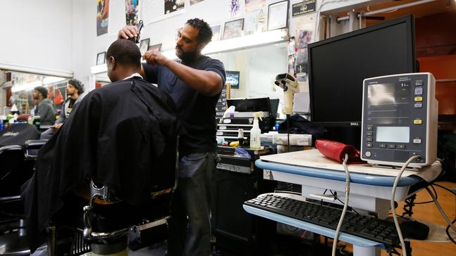 Barbershop study trimmed black men's hair and blood pressure