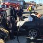 2 seriously hurt in Everett crash