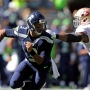 Russell Wilson returns to practice with sprained knee