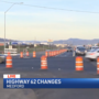 New traffic change begins Friday on Hwy 62