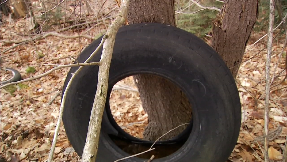 I Team Tire Mountains Still Left Behind Wgme