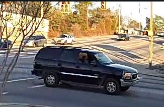 CPD is still searching for the driver of the GMC Yukon (Source: CPD)<p></p>