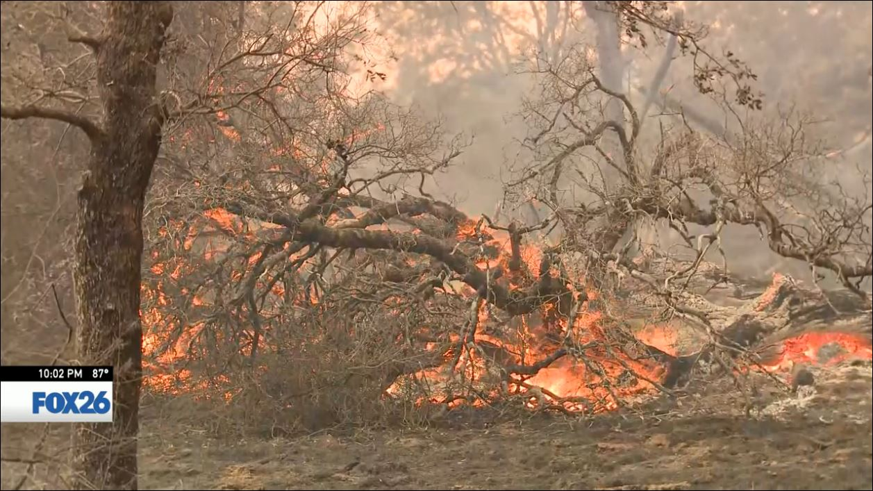 Fire in Mariposa County grows to over 100 square miles