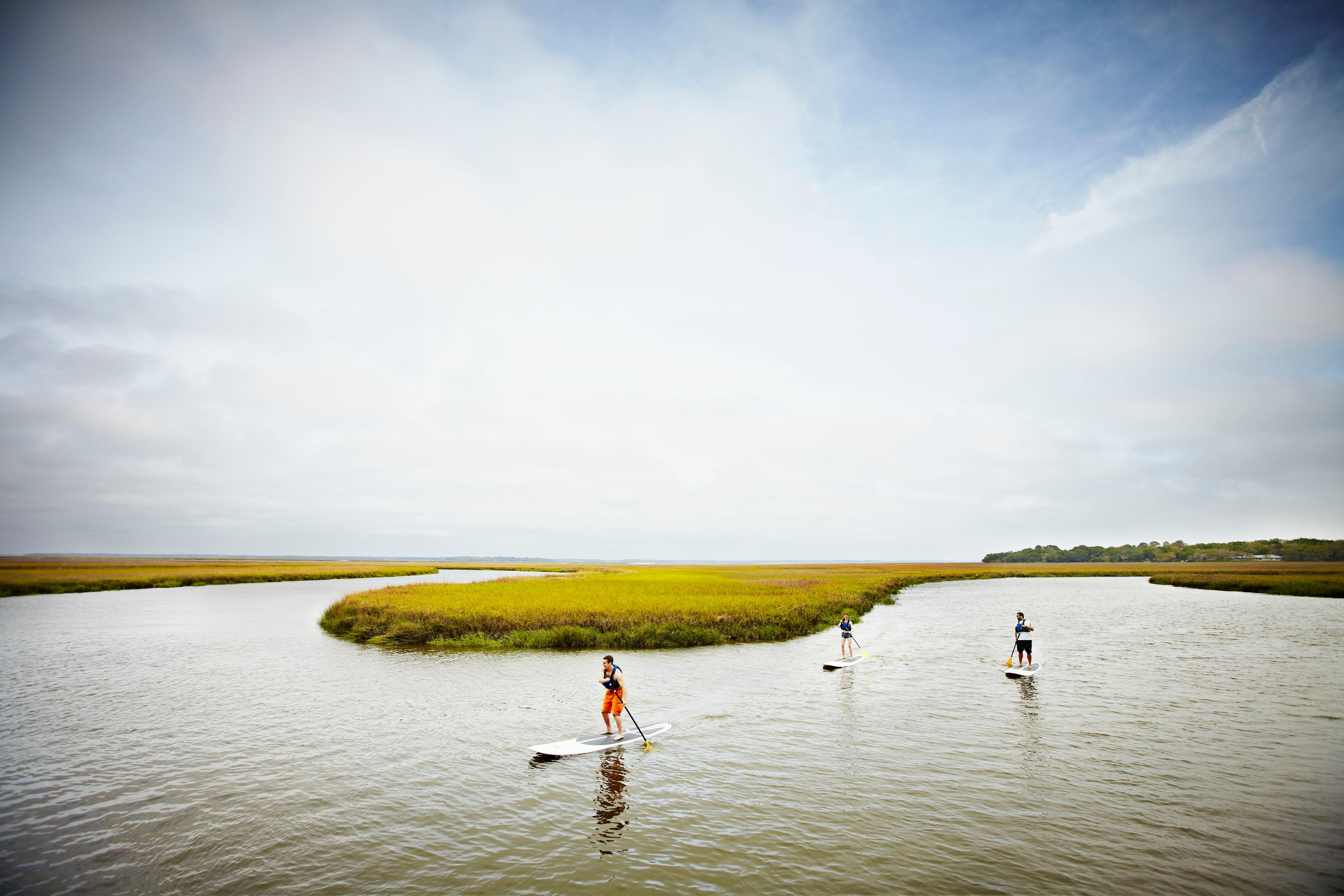 Paddle Boarding (Photo courtesy: Omni Amelia Island Resort)<p></p>