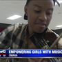 Classical musicians give inspiring performance at Girls Inc.
