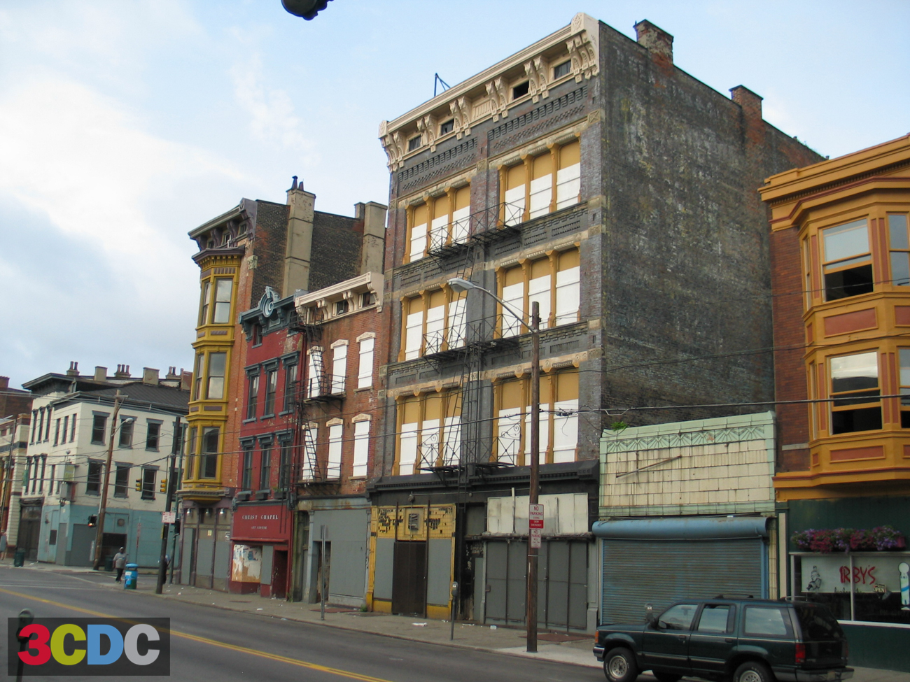 [BEFORE] LOCATION: Corner of 12th and Vine Streets (Over-the-Rhine) / IMAGE: Courtesy of 3CDC