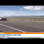 Road speed world record set on Nevada Highway 318