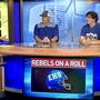 Evadale Rebel Football Visits the Sunday Sports Extra to talk on season