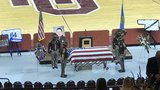 Fallen trooper laid to rest, pursuit suspect charged with murder