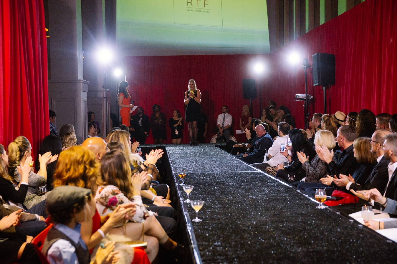 Runway to Freedom is an annual fashion show committed to empowering survivors of domestic violence. This year, proceeds from the event went to Mary's Place, a shelter for women and children hooping to reclaim their lives. (Image: Joshua Lewis / Seattle Refined)