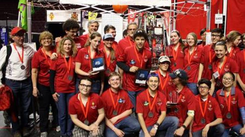 Utah high school's robotics club makes huge impressions at international competition