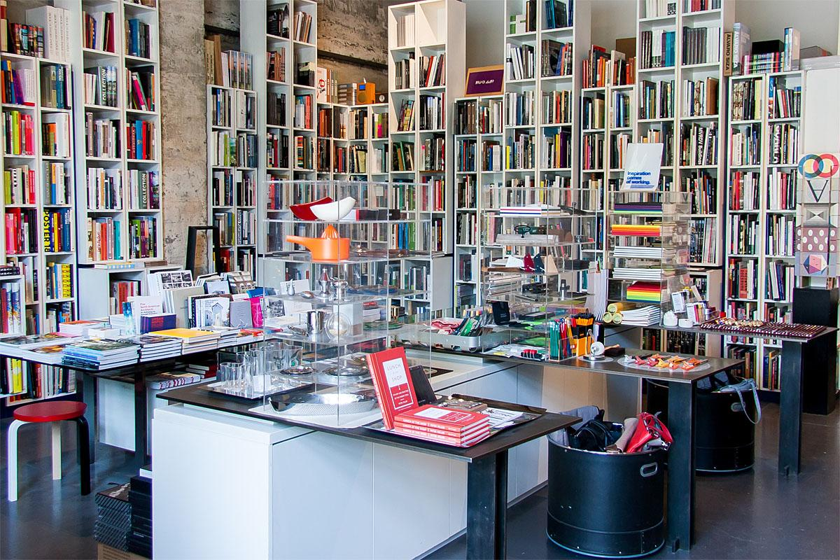 Peter Miller Books is located in Seattle's Belltown neighborhood. It's a well-curated shop filled with high-quality architecture and design books, sketchbooks and drawing supplies, and beautifully-designed, functional objects for the home. (Image: Melanie Biehle/Seattle Refined)