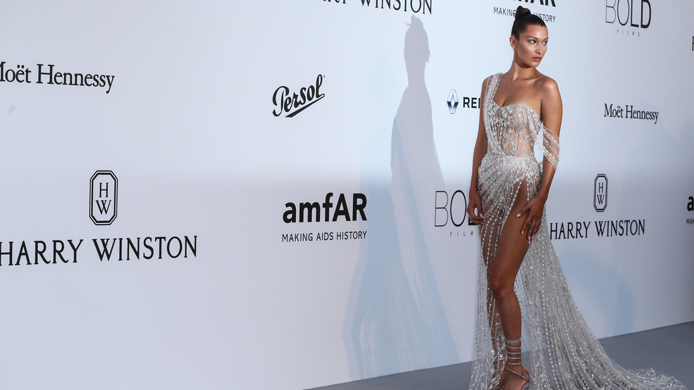 Celebs attend Cannes amfAR charity gala, fashion abounds