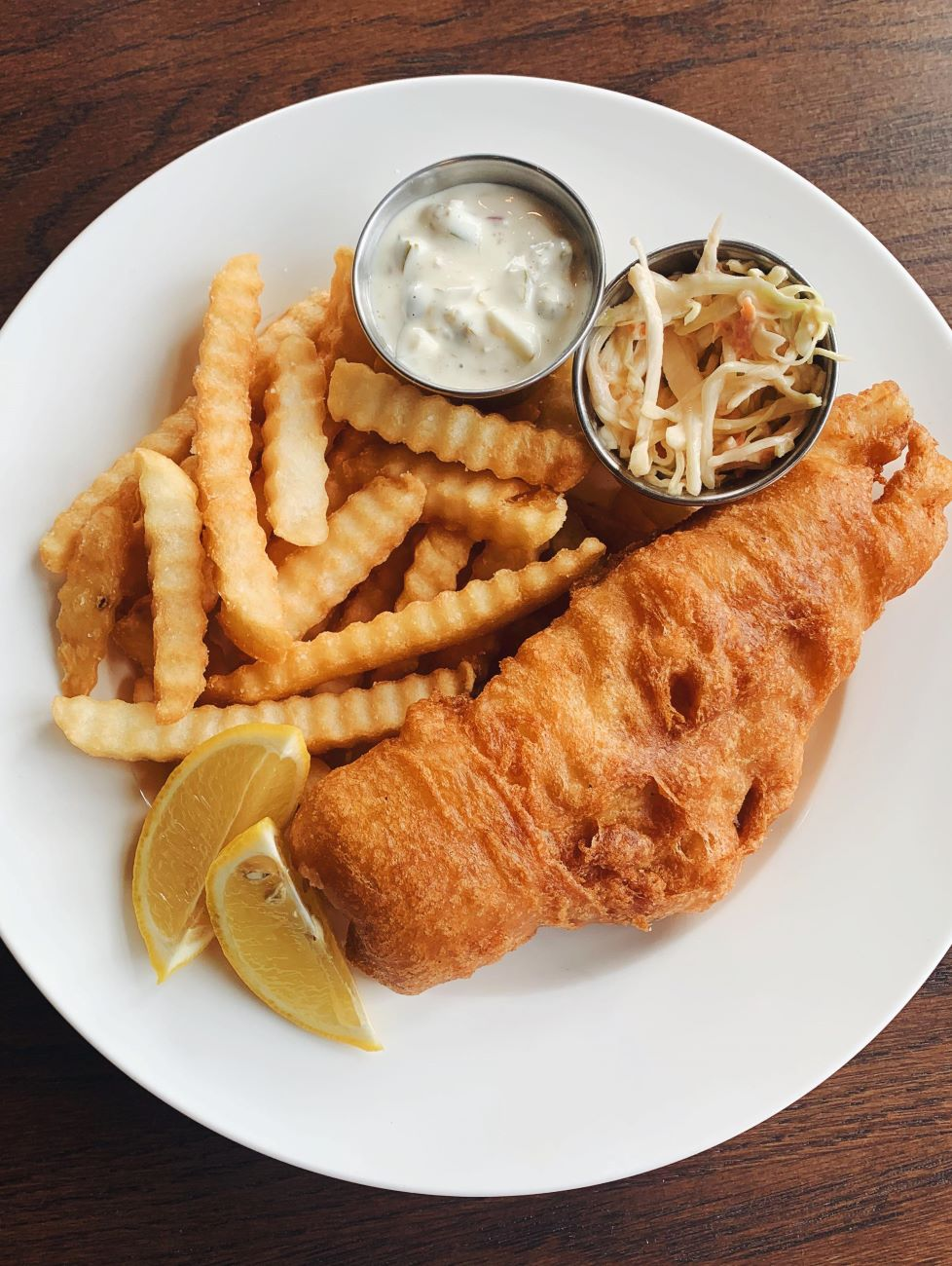 PLACE: Goose & Elder / ADDRESS: 1800 Race Street (45202) / Fish Fry Dinner / Image courtesy of Goose and Elder // Published: 2.18.21