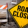 Road closures due to rising creek levels in Mobile