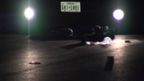 Man found partially under car with gunshot wounds