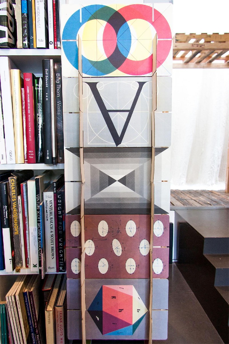 One of my favorite shop details is the Eames House of Cards display. As Peter mentioned in the interview, the sense of the shop and the space itself conveys the best sense of design. (Image: Melanie Biehle/Seattle Refined)