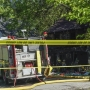 Ex-husband of Akron fire victim detained by police