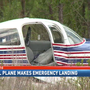 Plane makes emergency landing in Bay County, Fla.