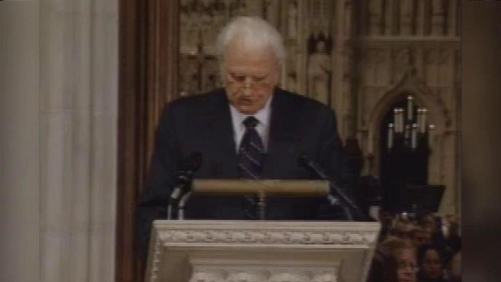 Remembering Rev. Graham & his address following the September 11th attacks