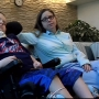Parchment boy recovering from brain aneurysm with community support