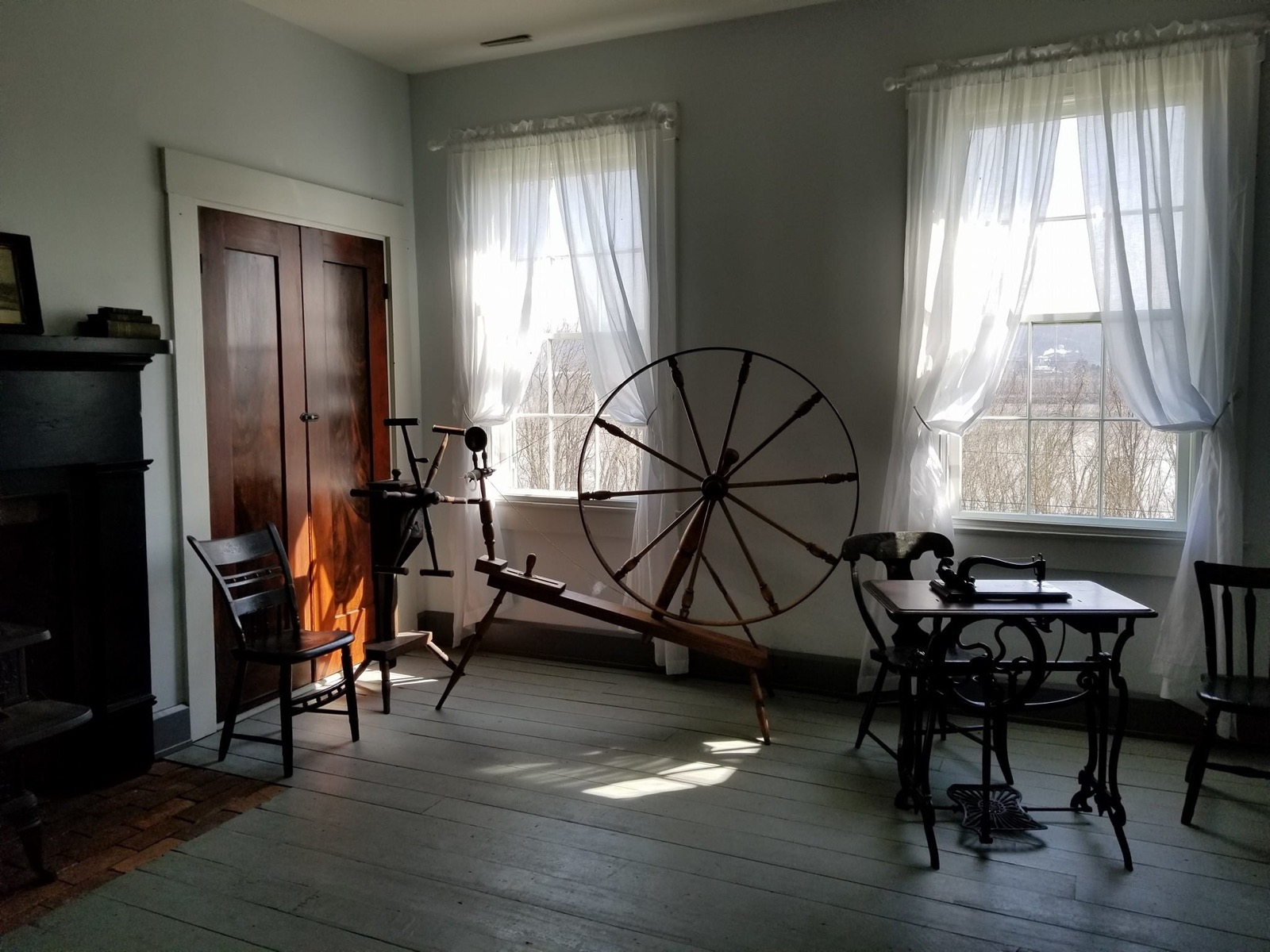At the Thiebaud Farmstead, a group of historical period actors will show you the ins and outs of life in 1843, including quilting, spinning, sewing, and how to press 300 pounds of hay. You'll even see how folks back then did laundry, which is sure to give you a new appreciation for your washing machine. / Image courtesy of Switzerland County Historical Society // Published: 4.1.18