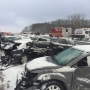 At least 40 cars, 3 semis involved in Interstate 75 pileup