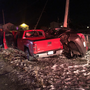 Lawton driver trapped in car after crash