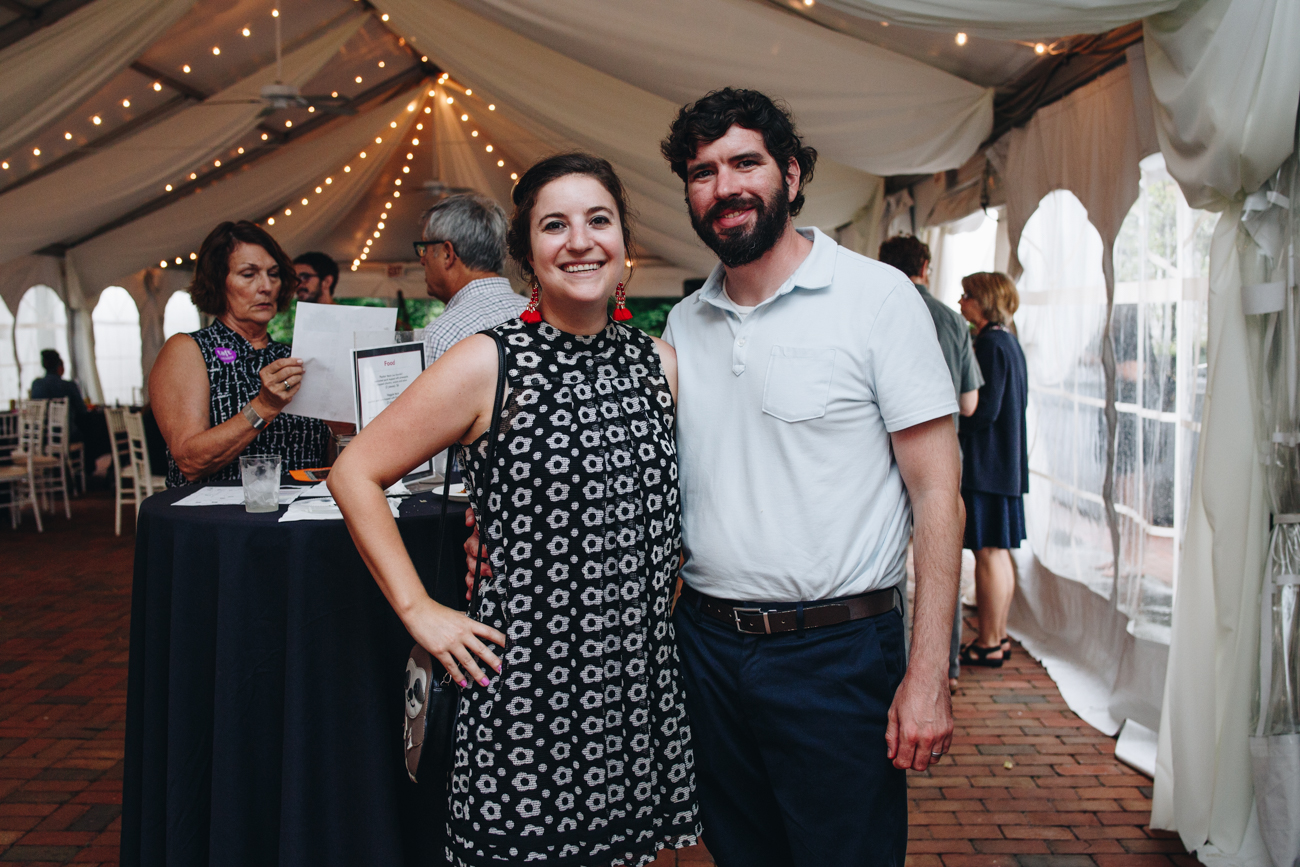 Andrea and Brian Buschmiller{ }/ Image: Catherine Viox // Published: 9.7.18