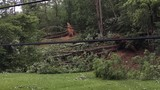 Cleanup under way in Lawrence County, Ohio, after strong storm