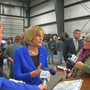 Raw video: Rep. Tenney avoids questions on controversial mass shooting remark