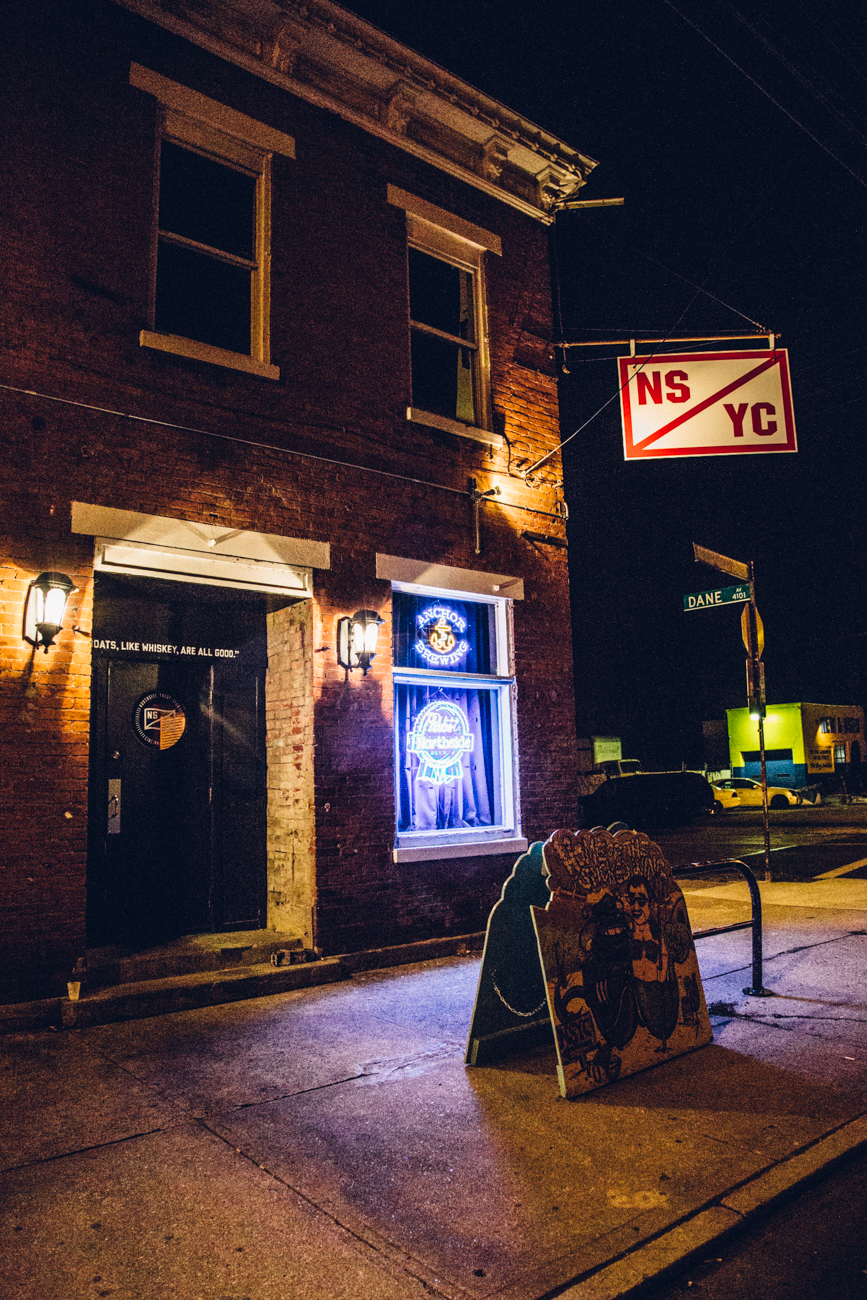 Northside Yacht Club / ADDRESS: 4231 Spring Grove Ave, Cincinnati, OH 45223 / Image: Catherine Viox // Published: 3.23.17