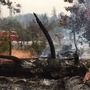 Mission Fire: Dead trees fuel fire in Madera County