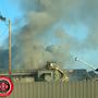 Johnson City firefighters battling industrial fire at OmniSource