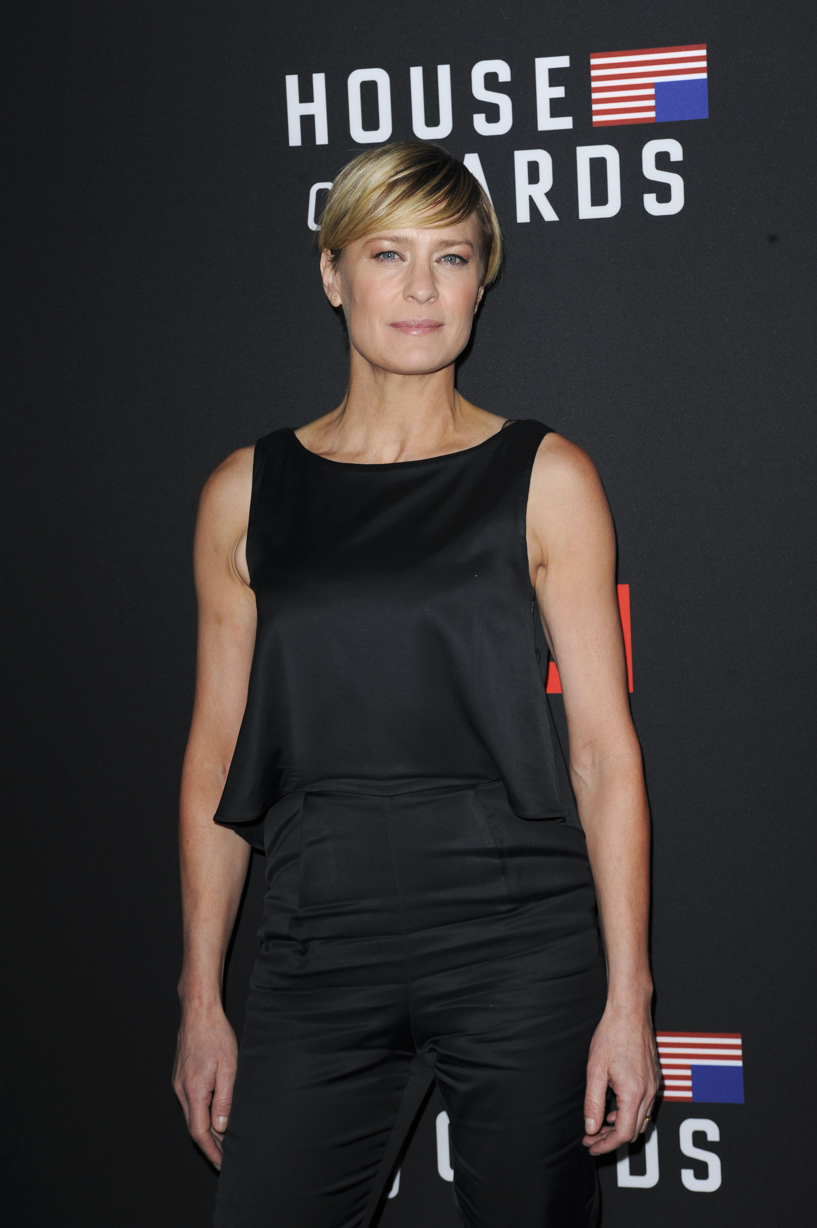 Film Premiere of House of Cards  Featuring: Robin Wright Where: Los Angeles, California, United States When: 14 Feb 2014 Credit: Apega/WENN.com