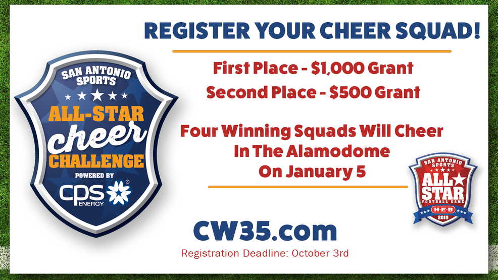 The San Antonio Sports All-Star Cheer Challenge powered by CPS