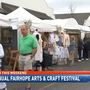 Fairhope arts and crafts festival draws Friday crowds despite wet weather