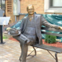 Statue of Herbert Hoover unveiled