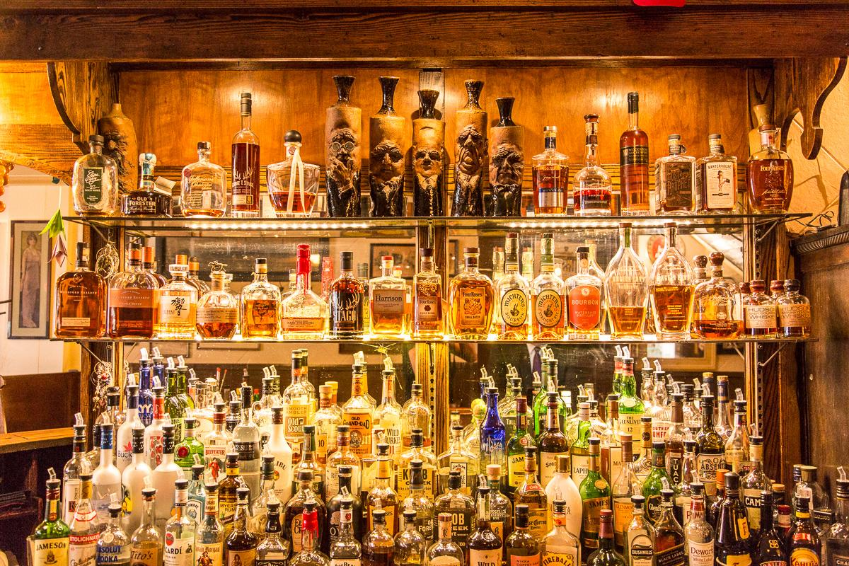 Arnold's Bar and Grill has an amazing selection of drinks. (Respect.)  --  Image: Daniel Smyth Photography