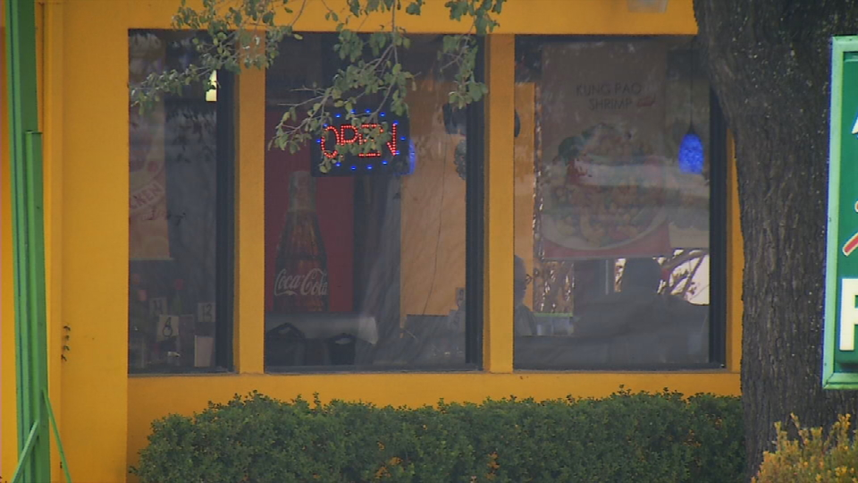 These are one of the main windows facing the parking lot area (News 4 San Antonio).{&amp;nbsp;}<p></p>