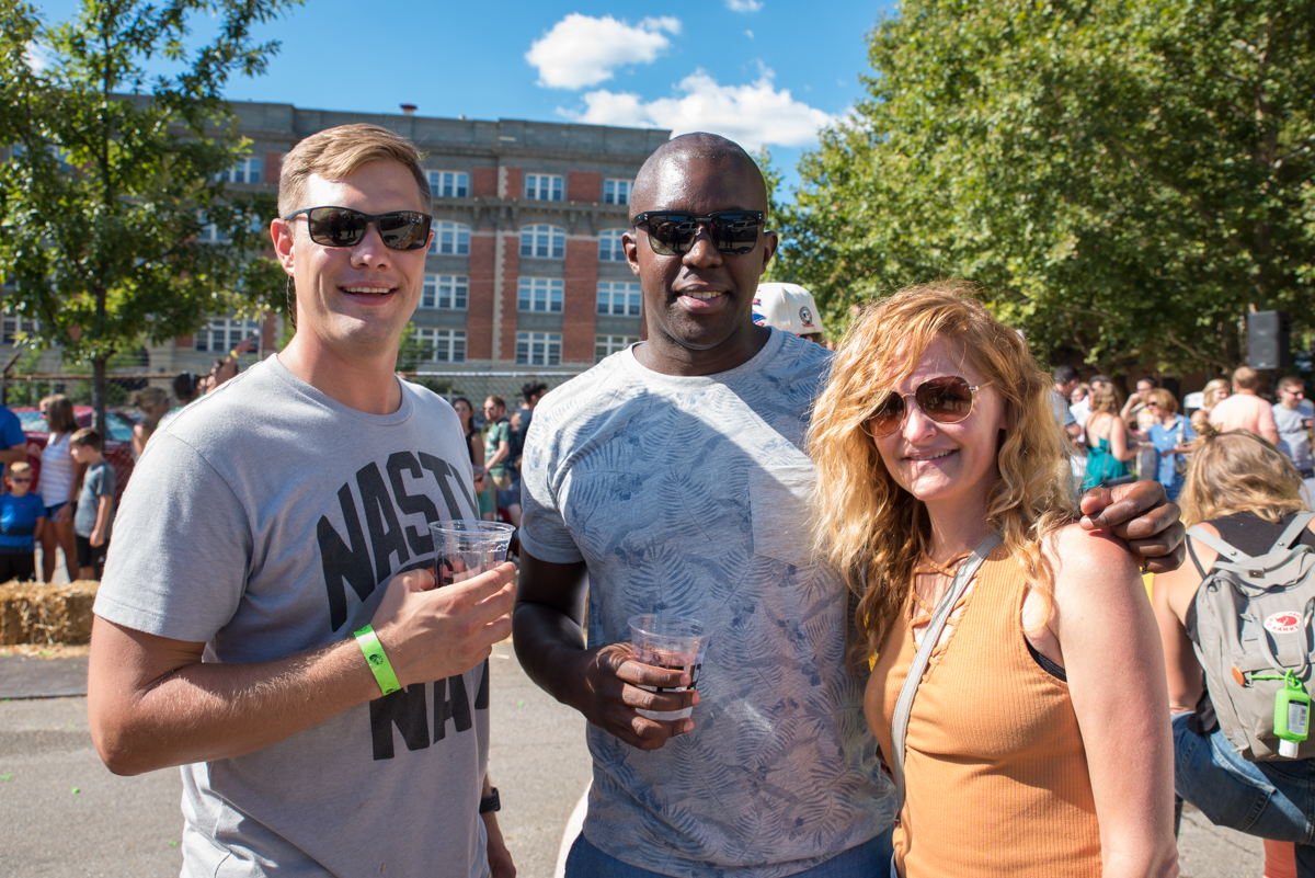 Alex Young, Emmanuel Bakarema, and Kerry Holleran / Image: Sherry Lachelle Photography