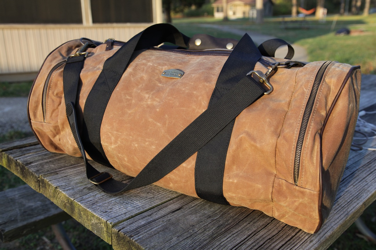 "<p>Stormy Kromer's Legacy Duffle is a classic, handsome duffle that's built to last. It's made of waxed cotton, includes a large main compartment, two zippered end pockets, and comes with an adjustable nylon shoulder strap and leather handle wrap. /{&nbsp;}<a  href=""https://www.stormykromer.com/"" target=""_blank"" title=""https://www.stormykromer.com/"">Website{&nbsp;}</a>/ Price: $249.99 / Image: Chez Chesak // Published: 12.6.20</p>"