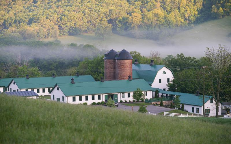 Escape the city, get back to nature and make it a vacation to remember. Nestled in Virginia's Allegheny Mountains in Hot Springs, a trip to Homestead Preserve offers everything from wooded seclusion to stunning panoramas. While you are there, take a scenic hike along the Jackson River through the Hidden Valley Trail. (Image: Courtesy Homestead Preserve)